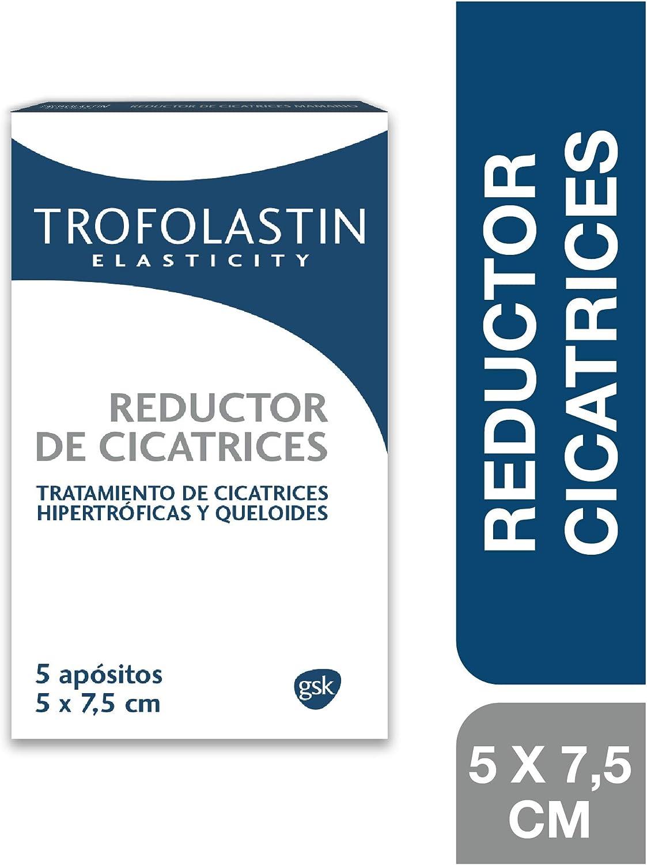 Trofolastín - Reductor de Cicatrices - 5 apósitos de 5 x 7.5 cm ...