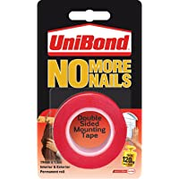 UniBond No More Nails Permanent Roll - 19 mm x 1.5 m