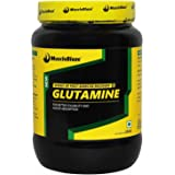 MuscleBlaze Glutamine for Protein Synthesis and Prevents Breakdown of Muscle Tissues, 250g