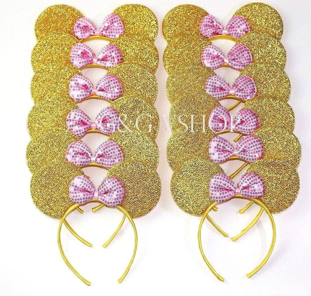 14k Yellow /& Rose Gold w//Rhodium DC #1 Nana w//Rose Pendant K5903