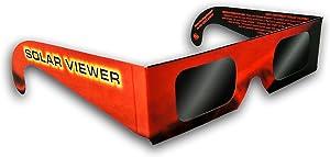 GL-25 - Black Polymer Film Solar Filter Glasses (One Pack of 25 Each)