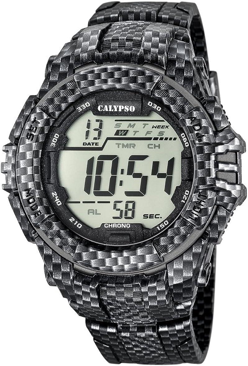 Calypso K5681/7 - Reloj de Pulsera Hombre, Plástico, Color Multicolor