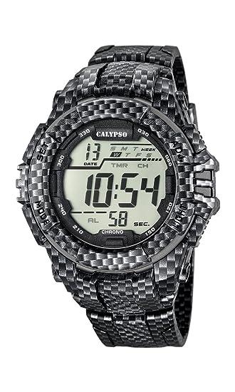 Calypso K5681/7 - Reloj de Pulsera Hombre, Plástico, Color: Amazon.es: Relojes