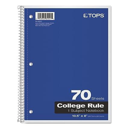 Ordinaire TOP65021   TOPS 1 Subject Notebook
