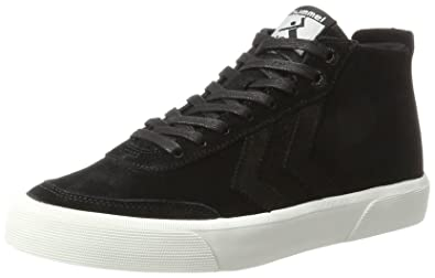 3291ad9cb47 hummel Unisex-Erwachsene Stockholm Suede MID Hohe Sneaker, Schwarz (Black),  38