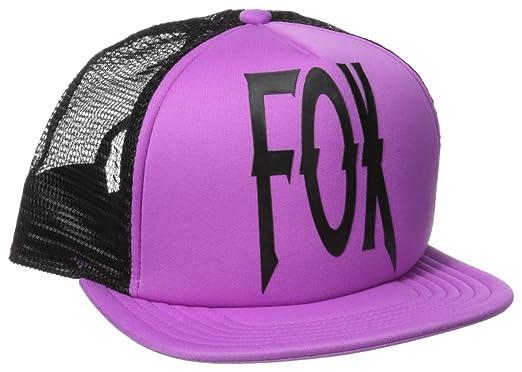 Gorra Camionero Mujer Fox Lock Down Neon Lilac (Default , Morado ...