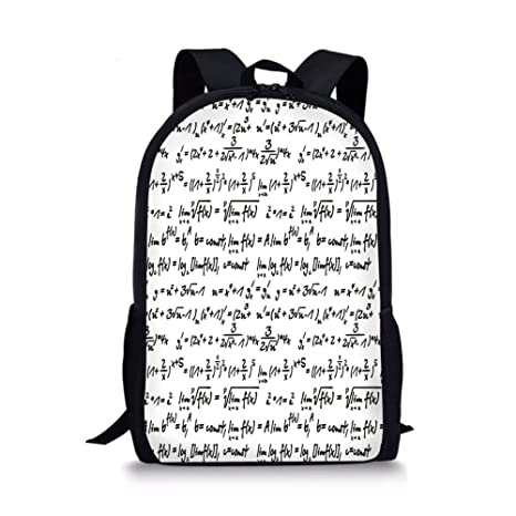 Amazon com: iPrint School Bags Mathematics Classroom Decor