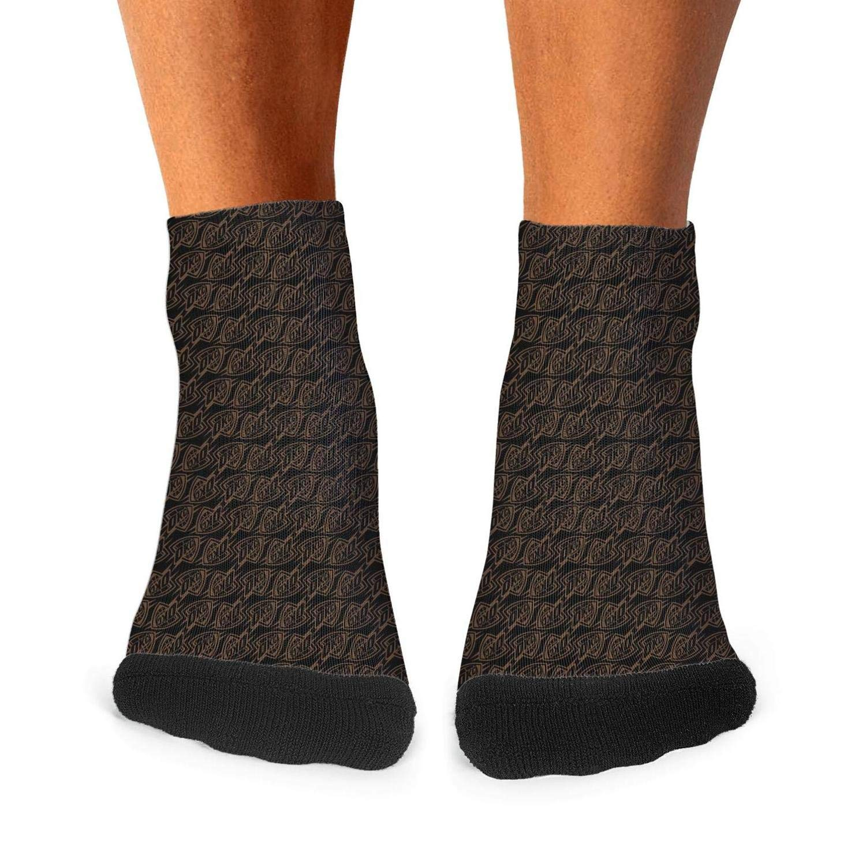 Mans Crew Socks Elastic Vintage Dance Elastic Short Socks