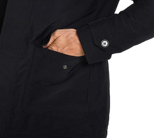 PAUL & SHARK - Abrigo - para Hombre Negro XL: Amazon.es: Ropa y accesorios