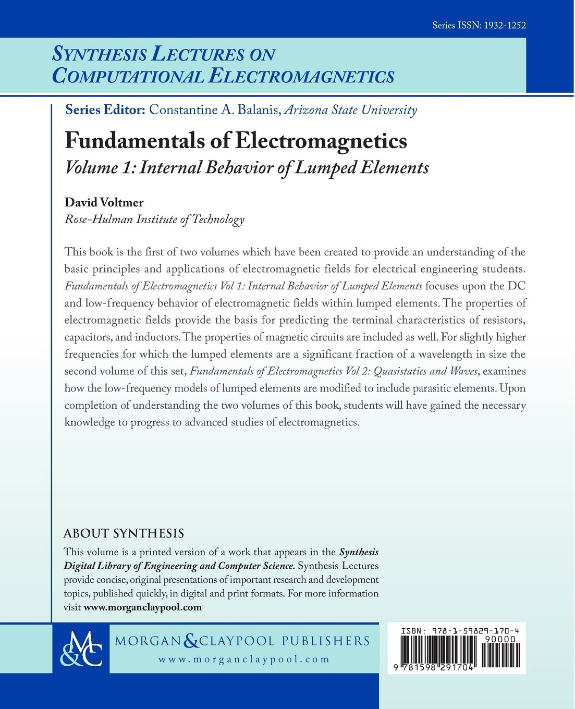 Fundamentals of Electromagnetics 1: Internal Behavior of Lumped