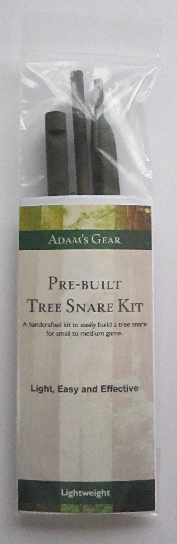 Adam's Outdoor Gear Lightweight Survival Tree Spring Trap Snare Kit 2.0, Small Animal Snare, Small Animal Trap, Game Snare, Survival Snare