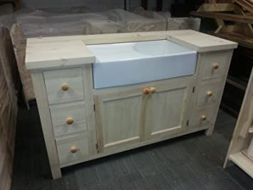Freestanding Kitchen Unit (Large) for a Belfast Sink in ...