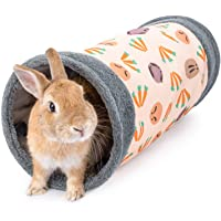 Niteangel Guinea Pig Tubes & Tunnels for Dwarf Rabbits Bunny Guinea Pigs and Other Small Animals