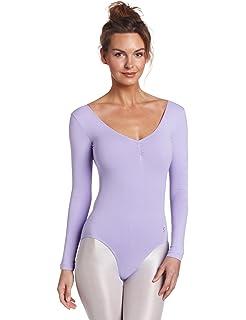 #SIMONE Plus Size Larger Ladies Lycra Leotard Short Sleeve Plain Front