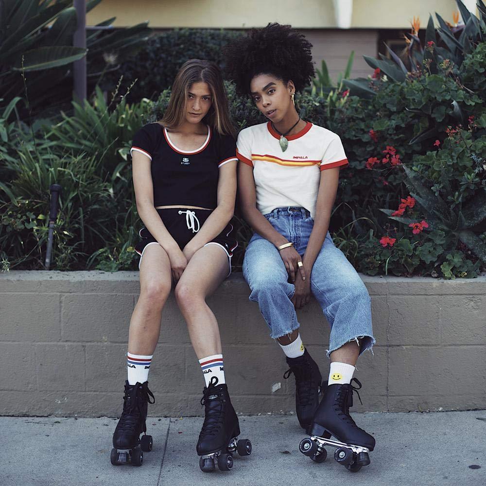 Impala Sidewalk RollerSkates Black Size 8