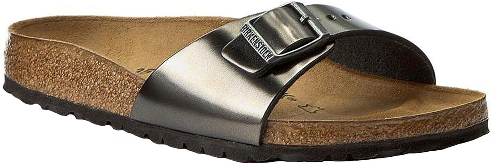 Birkenstock Womens Madrid Leather Sandals: Amazon.it: Scarpe