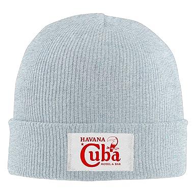 Amazon.com  Unisex Knit Caps Cuba Havana Bar Che Guevara California ... 6c4ac866cd75