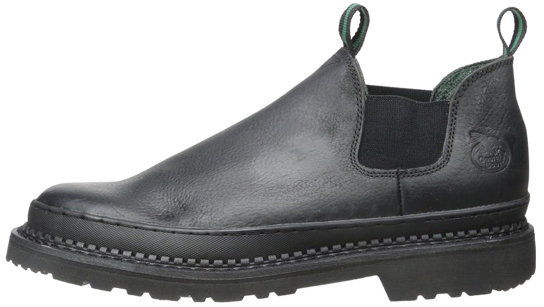 Georgia Boot Men's Georgia Gr270 Giant Romeo Work Shoe B00108OJM6 15 D(M) US|Black