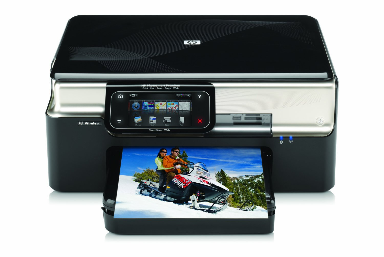 Amazon.com: HP Photosmart Premium TouchSmart Web All-in-One Printer:  Electronics