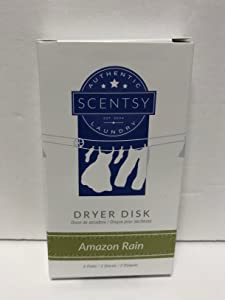 Layers by Scentsy Dryer Disks (Amazon Rain) by Scentsy