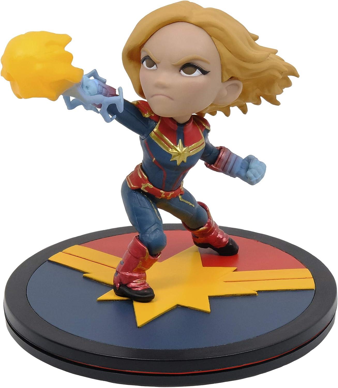 Amazon.com: Quantum Mechanix Marvel: Capitán Marvel Q-Fig Figura Diorama: Toys & Games