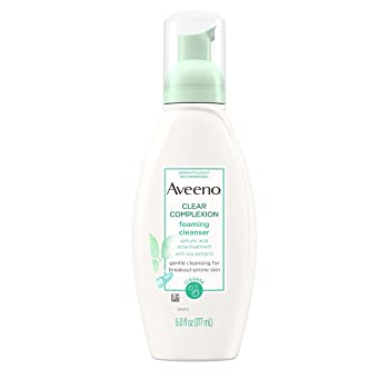 Aveeno Clear Complexion Foaming Oil-Free Facial Cleanser