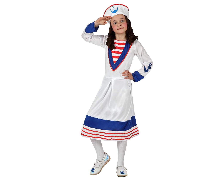 Disfraz de Marinera para niñas en varias tallas: Amazon.es ...