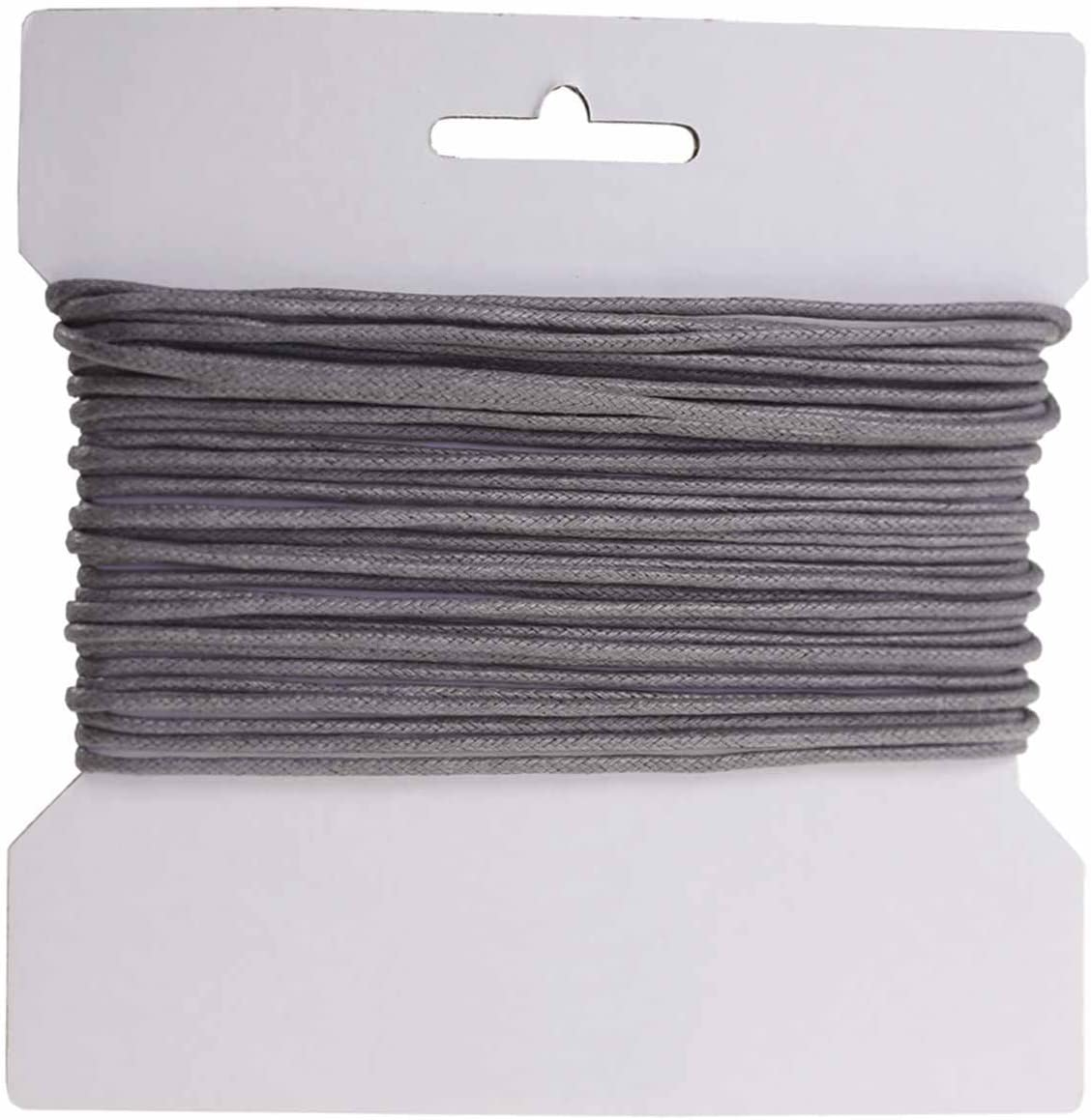 Schmuckschnur maDDma 10m gewachste Baumwollschnur//Wachsschnur 2mm Farbe w/ählbar Farbe:schwarz