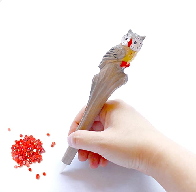 Diamond painting penball point pen beaded with beautiful unicorn charm
