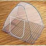 【gioiellante】蚊帳 ワンタッチ 折りたたみ式 ムカデ対策 シングル セミダブル ダブル キング