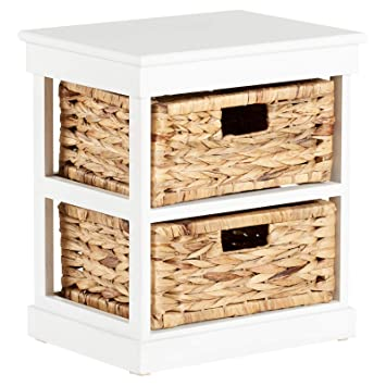 Fabulous Hartleys 2 Drawer Storage Unit Bedside Cabinet White Pdpeps Interior Chair Design Pdpepsorg