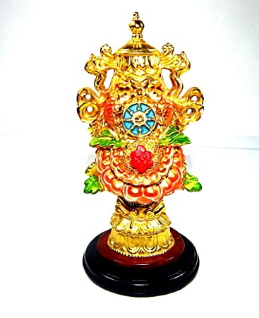 Buy Urancia Feng Shui Chinese Rashi Tibetan Efficacious Protection Nepal Buddhism Eight 8 Auspicious Good Symbols Prayer Statue For Vastu Fengshui Home Online At Low Prices In India Amazon In