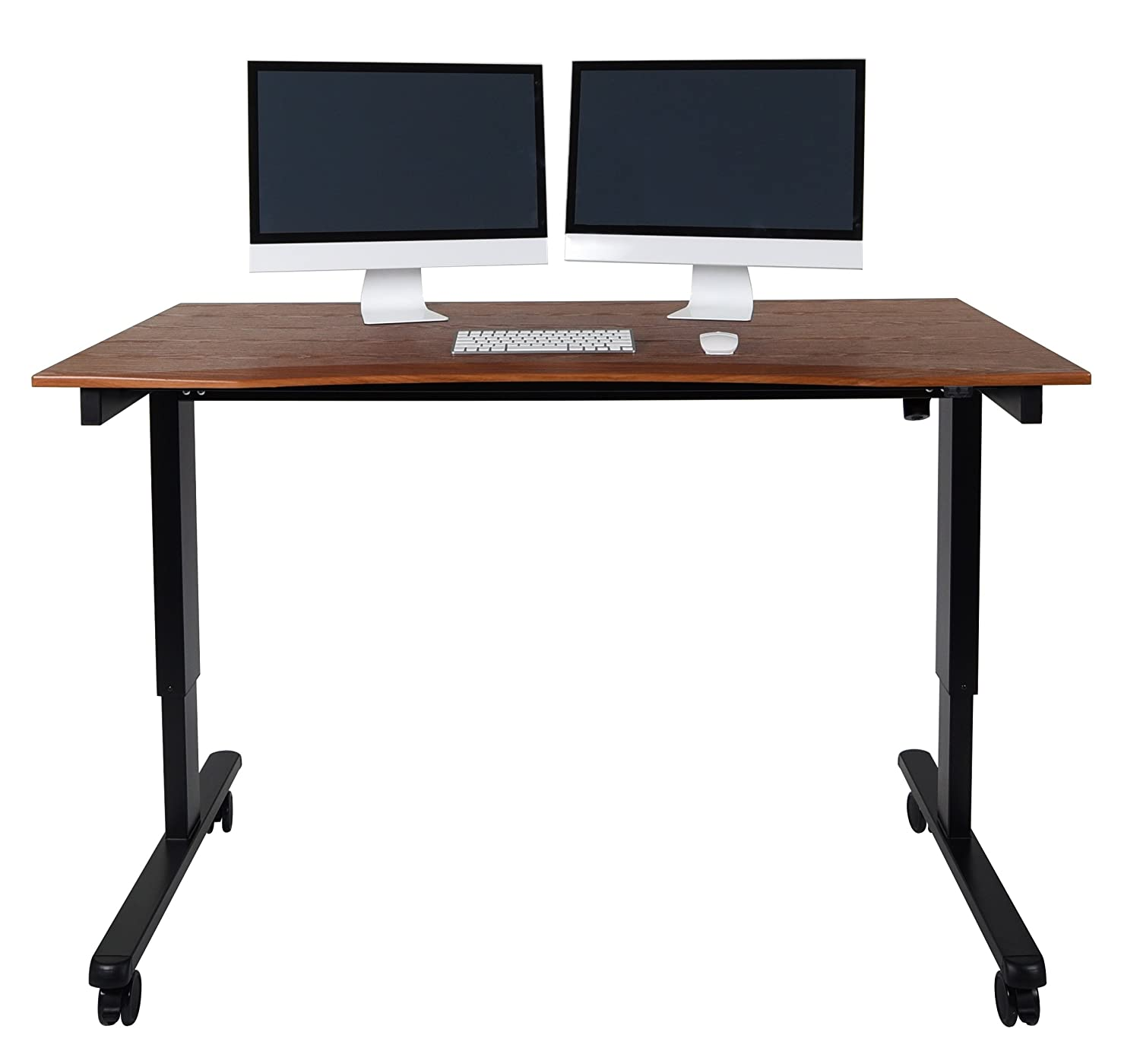 Amazoncom 60 Electric Stand Up Desk with Comfort Curved Edge