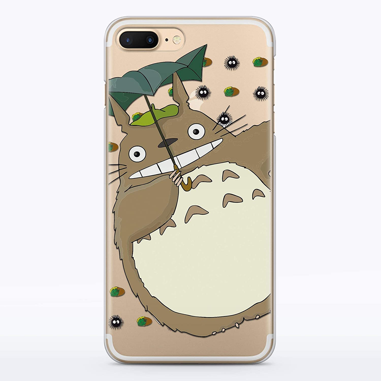 the latest b4655 f4d23 Amazon.com: Totoro iPhone Case My Neighbor Totoro Studio Ghibli ...
