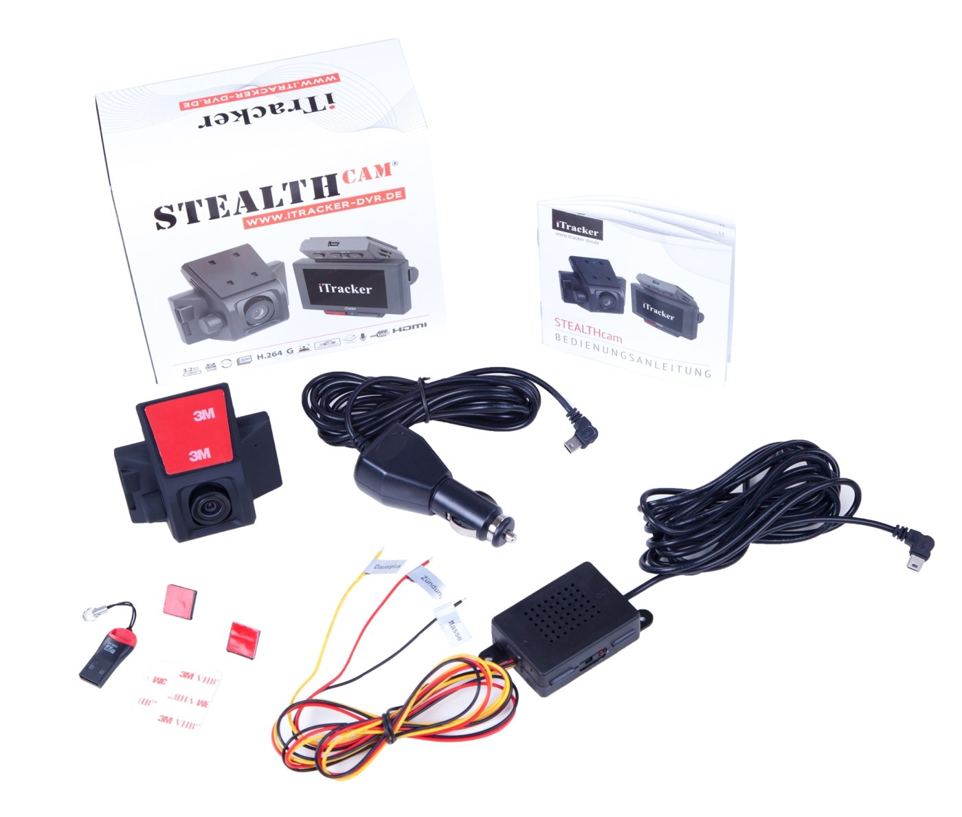 Dashcam iTracker STEALTHcam Test 2014