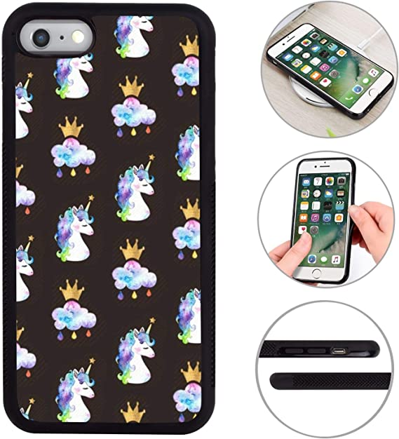 iPhone 6 / 6S Case Unicorn Pattern