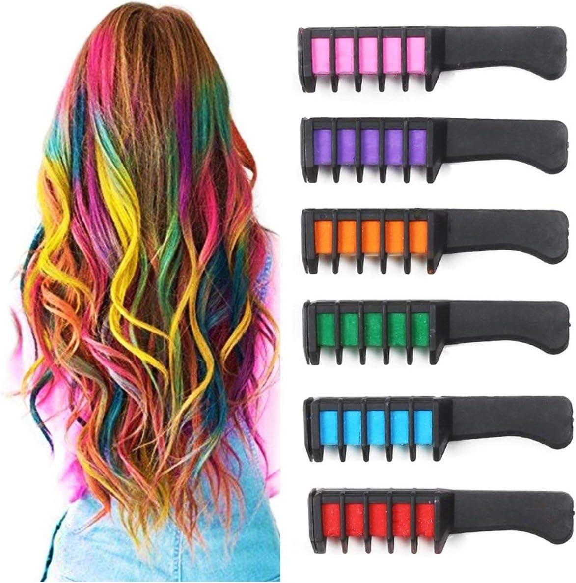 Trade Shop – Peine de color para el pelo, 3 unidades, cepillo ...