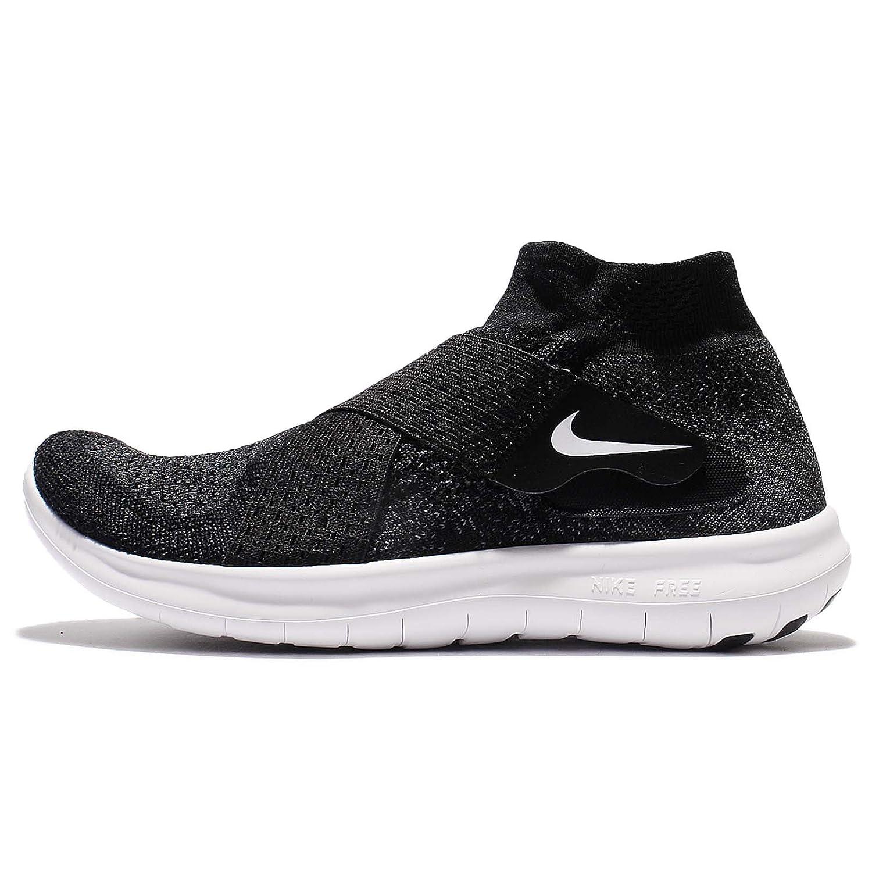 pretty nice 0762d 60648 Nike W Free Rn Motion Fk 2017, Women's Trail Running Shoes, Black  (Black/White/Dark Grey/Volt 003), 8 UK (42.5 EU)