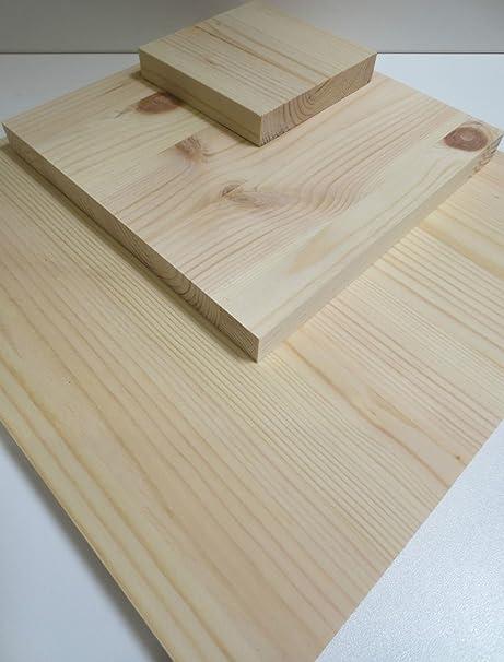 HDM bois bois étagère en mm panneau massif pin 28 lamellé Nn0mw8