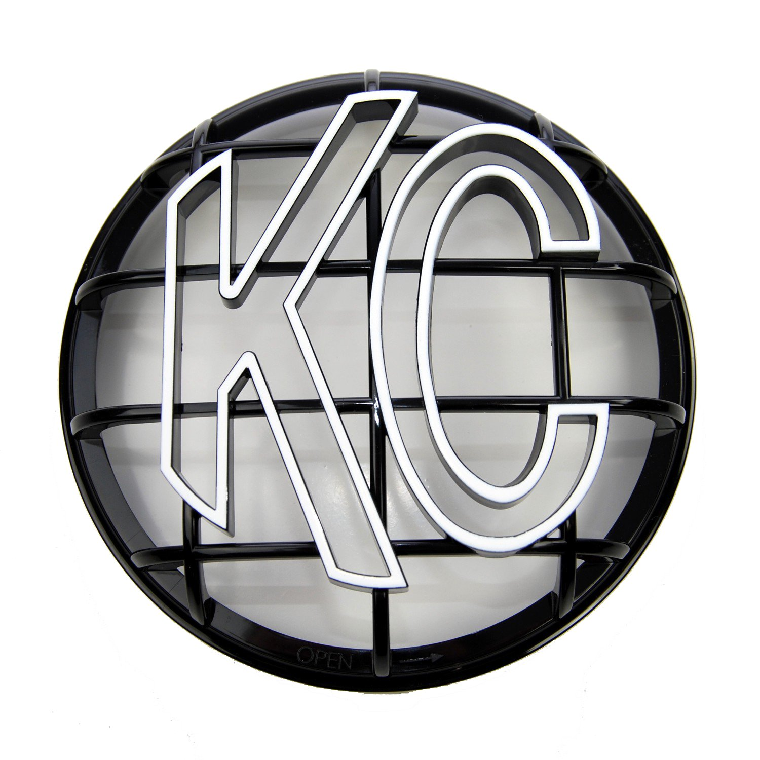 KC Hilites 7216 Apollo Black 6' ABS Stone Guard