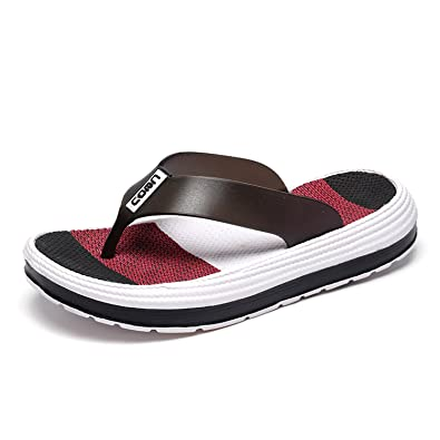 ae4cd9d3f0fce2 Sintiz Women s Flip Flops Thong Sandals Comfort Walking Slippers Casual  Beach Wear Ladies Falt Shoes Black