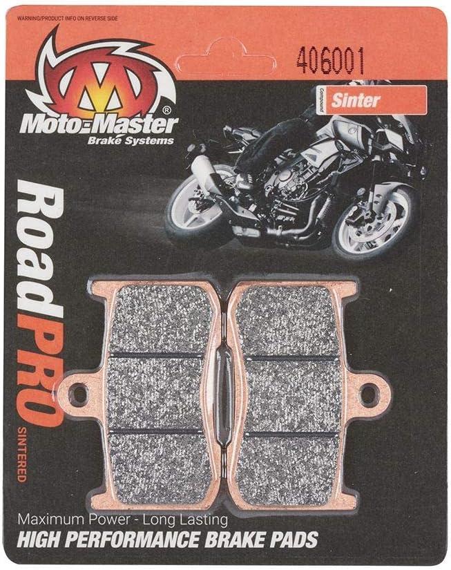 Moto-Master RoadPRO Sinter CBR 600 RR PC37 05-06 Plaquettes de frein avant