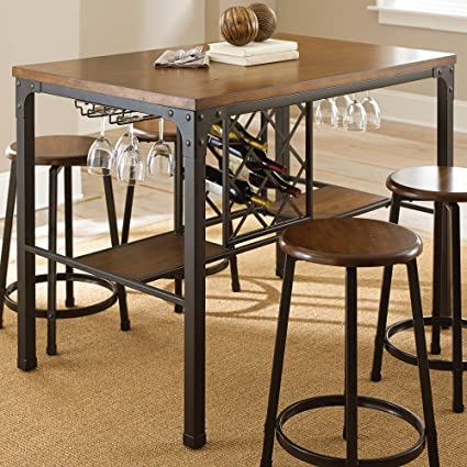 Awesome Steve Silver Company Rebecca Counter Table Download Free Architecture Designs Scobabritishbridgeorg