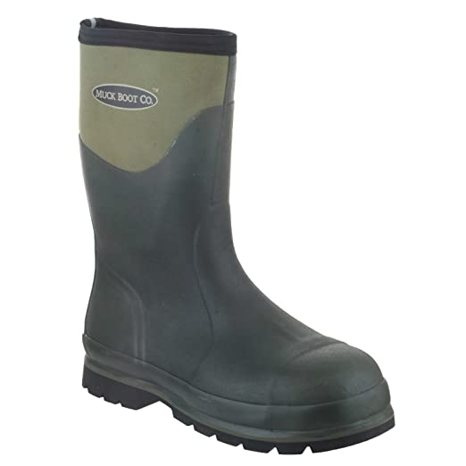 Muck Boots Unisex Humber Steel Toe Cap Safety Wellington