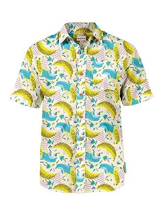91087ed9e2d Men s Tropical Aloha Hawaiian Shirts - Summer Light Weight Button ...
