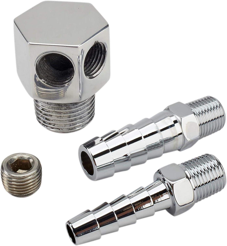 Vacuum and Brake Booster Port