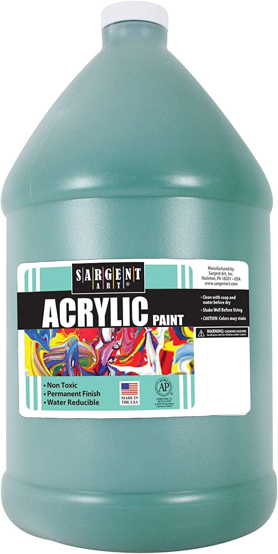 Sargent Art, Spectral Acrylic Paint, Green, 64 oz. Bottle