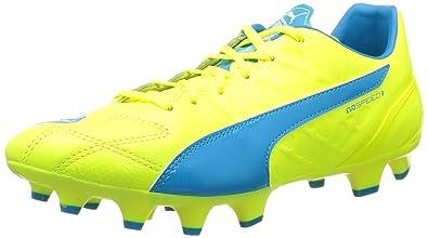 38f288996deb PUMA Evospeed 3.4 LTH Firm Ground, Men's Football Training Shoes, Green  (Safety Yellow
