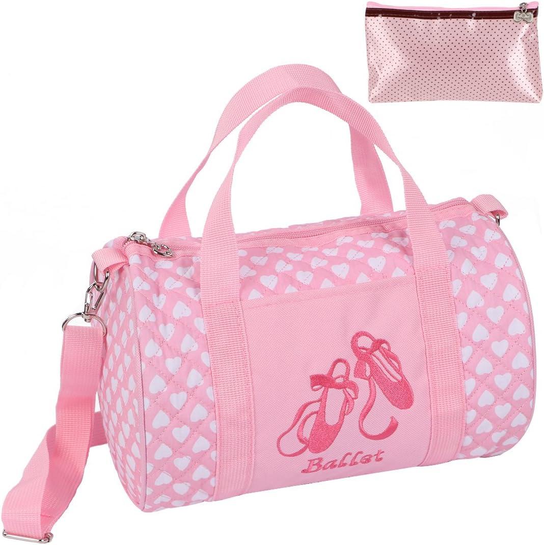 ballet bag duffel bag for girls dance dance class bag Small Girls ballet bag personalized dance class bag ballet slipper duffel bag