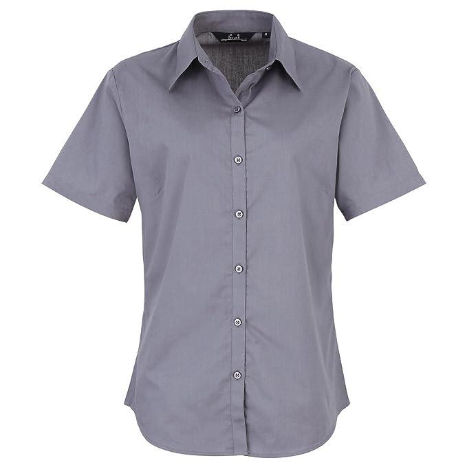 Premier - Camisa formal - para hombre Gris Acero